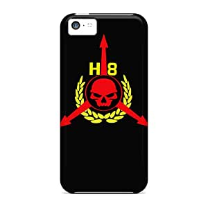 Anti-scratch And Shatterproof Hate Platoon Crest Phone Case For Iphone 5c/ High Quality Tpu Case