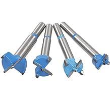 Atoplee Carbide Forstner Bit Filler Set, 16mm 20mm 22mm 24mm, 4 sizes (all 4 sizes)