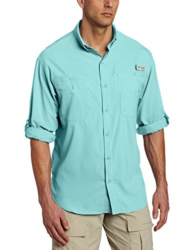 Columbia Men's Plus Tamiami II Long Sleeve Shirt, Moxie - X-Large