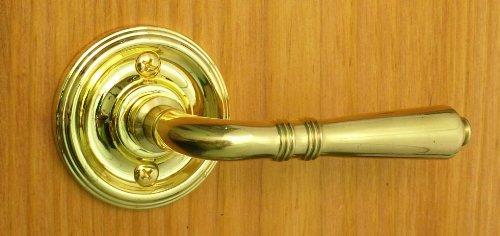 Providence by FPL- Solid Brass Half Dummy Lever Set, Polished Brass Finish