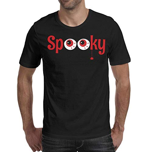 Spider Eye Halloween erytryt Men's t Shirts Novelty Mens Guys Halloween Costume tee Shirt]()
