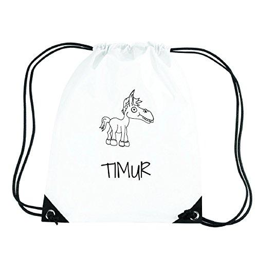 JOllipets TIMUR Turnbeutel Sport Tasche PGYM5983 Design: Pferd VQj2L3ZY