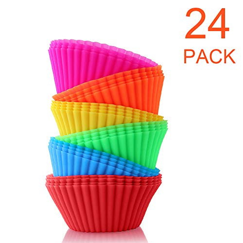 BiaoGan Silicone Cupcake Reusable Wrappers