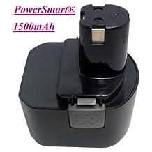 PowerSmart\xae 12V 1500mAh Ni-Cd Battery for RYOBI CCD1201, CHD1201, CHD1202, CTH1201, CTH1202, CTH1202K2, FL1200, HP1201M, HP1201MK2, HP1201KM2, R10510, RY1201, TDS4000, TF1100 Power Tools, Compatible Part Numbers: 1400652, 1400652B, 1400670