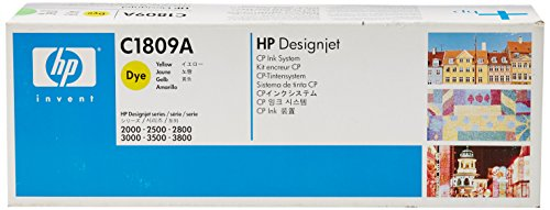 HP C1809A  Jet Color Printer Ink System (Yellow  Design)