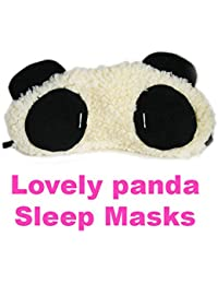 Women Girls Panda Sleeping Masks Cute Eye Mask for Sleeping Travelling