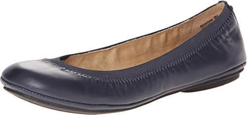 Bandolino Women's Edition Navy Leather Flat Bandolino Leather Flats
