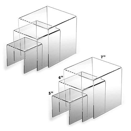 Adorox 2 Sets 5, 6, 7 Acrylic Display Riser