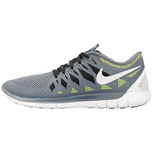 Nike Free 5.0 Heren Cool Grey / Platinum / Black / Volt