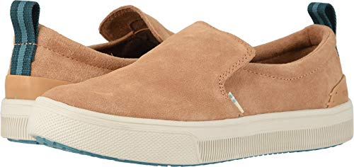 TOMS Women's TRVL LITE Slip-On Honey Suede 8 B US
