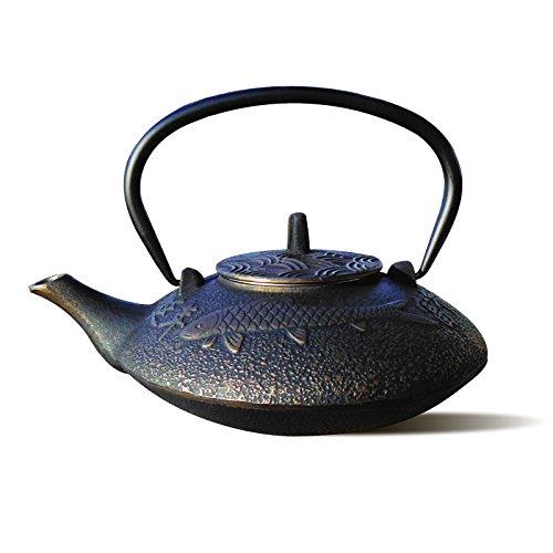 38 oz koi teapot - 1