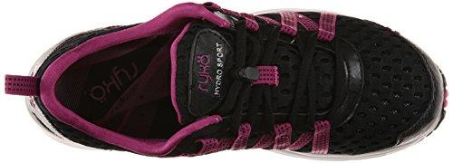 Sport Cromo plateado mujer de de Hydro Zapatilla entrenamiento Ryka negro agua Berry Zapato para w71a8Fq