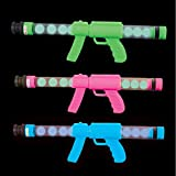 Glow In The Dark Moon Toy - 3 Pack - Night Time Games, Parties, Outdoor Events