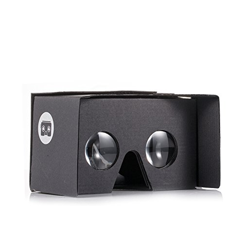 v2.0 I AM CARDBOARD® VR CARDBOARD KIT - Inspired by Google Cardboard v2 (Black)