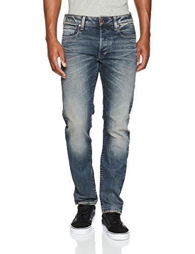 Raw dk G Uomo Slim Blu Aged Jeans 89 star 3301 Ox0qn04w5P