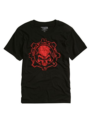 Hot Topic Gears Of War 4 Crimson Omen T-Shirt