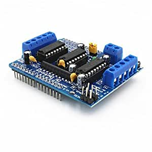 Control de motor L293D tarjeta de expansión de la unidad de motor escudo para Arduino - azul