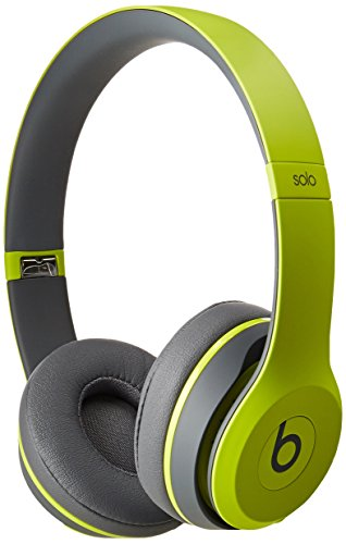 Beats Solo2 Wireless On-Ear Headphone, Active Collection - Shock Yellow (Old Model)