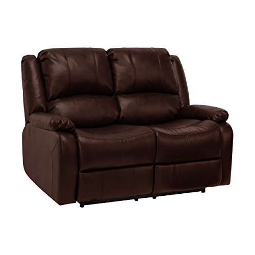 recpro charles 58 double rv zero wall hugger recliner sofa loveseat mahogany best sofas. Black Bedroom Furniture Sets. Home Design Ideas