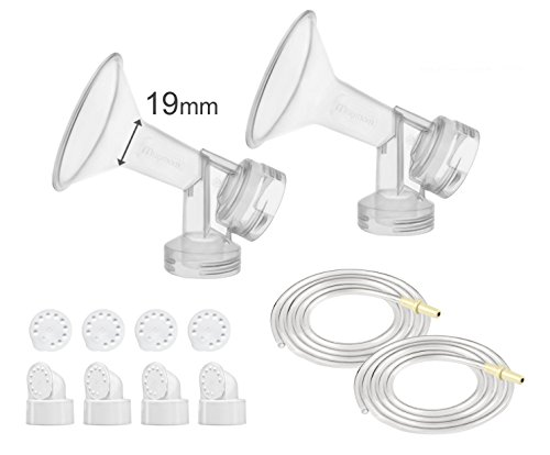 Maymom Pump Parts for Medela Pump in Style Pumps; 19 mm Extra Small - Shield Styles