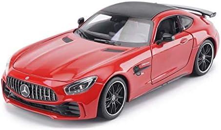 YN モデルカー 1:24スケールモデルメルセデスベンツスポーツカーAMG GT-Rスケールモデル、合金車、子供のための金属のおもちゃ/引き戻し機能 ミニカー
