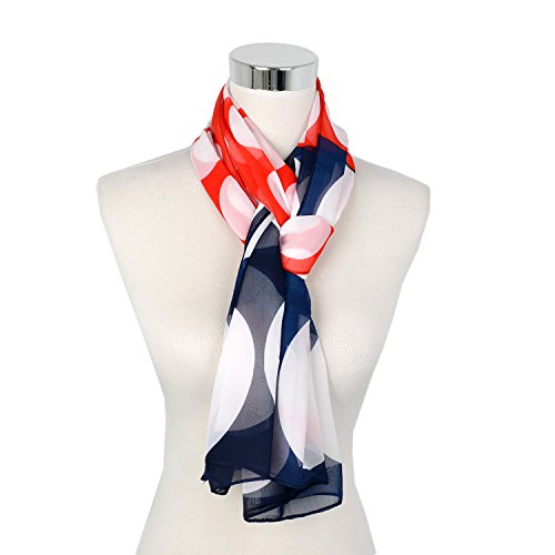 Ladies Vintage Large Bandanna Women Long Christmas Gift Scarf Shawl Oblong 62 X19 In Gift