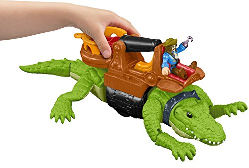 Fisher-Price Imaginext Walking Croc & Pirate Hook