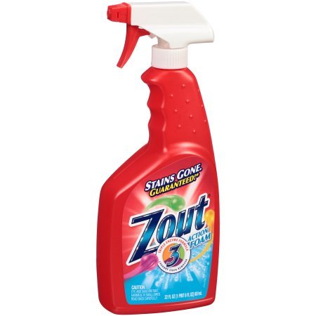 Zout Triple Enzyme Formula Action Foam Laundry Stain Remover