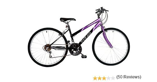 TITAN Wildcat – Bicicleta de montaña (Morado/Negro, 26 Pulgadas): Amazon.es: Deportes y aire libre