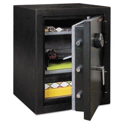 FireKing Half Hour Fireproof Safe with 2 Carpeted Shelves, 27-4/5
