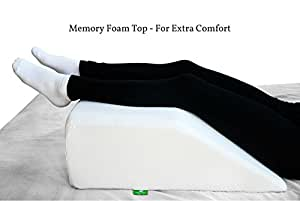 Amazon Com Post Surgery Elevating Leg Rest Pillow With