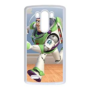LG G3 Cell Phone Case White Disneys Toy Story CCB Hard Phone Case Protective