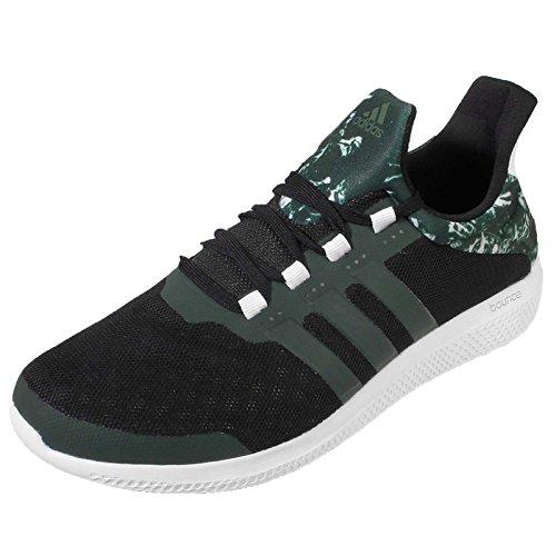 Adidas CC Sonique Bounce Climachill Hommes S78245 - Noir/vert-UK 7.5 EU 41.3