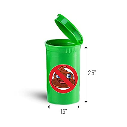 Amazon com: Funny Cartoon Poo First Aid Case Pill Container