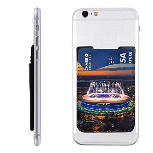 (Gremio Porto Alegre Soccer Clubs Stadium 3M Adhesive Ultra Slim Cell Phone Card Holder Back, Stick On Card Wallet Sticker for iPhone Android Smartphones)