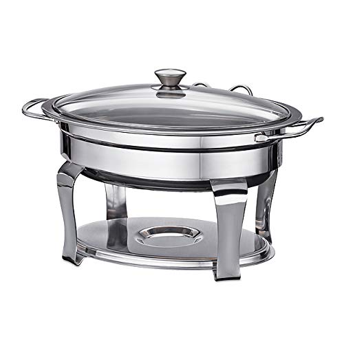 Tramontina 4.2 Qt Oval Stainless Steel Chafing Dish