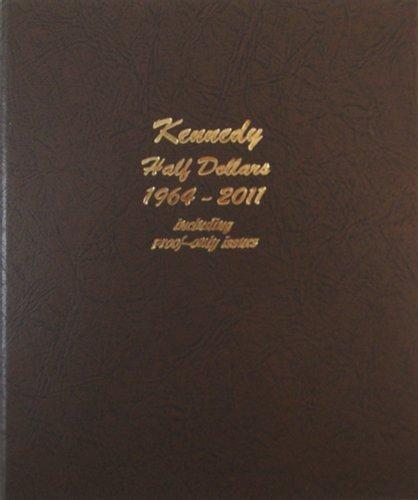 (Dansco US Kennedy Half Dollar Coin Album with Proof 1964 - 2011 #8166)