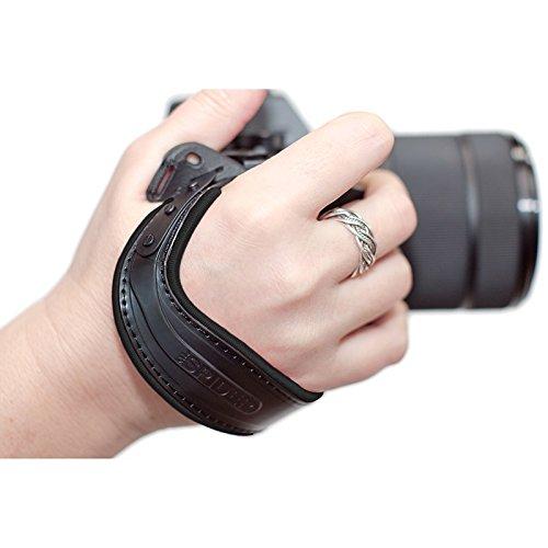 Spider Light Hand Strap Handschlaufe für spiegellose Systemkameras schwarz
