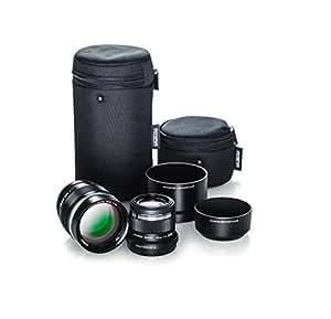 Olympus Portrait Lens Kit (M.Zuiko 75mm f1.8 and M.Zuiko 45mm f1.8 black lenses)