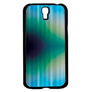 Blue, Yellow, and Green Abstract Triangle Pattern Hard Snap on Phone Case (Galaxy s4 IV)