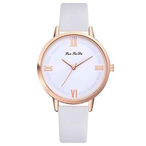 YJYdada FanFeeDa Women's Casual Fashion Quartz Belt Watch (Tiffany Letter Opener)
