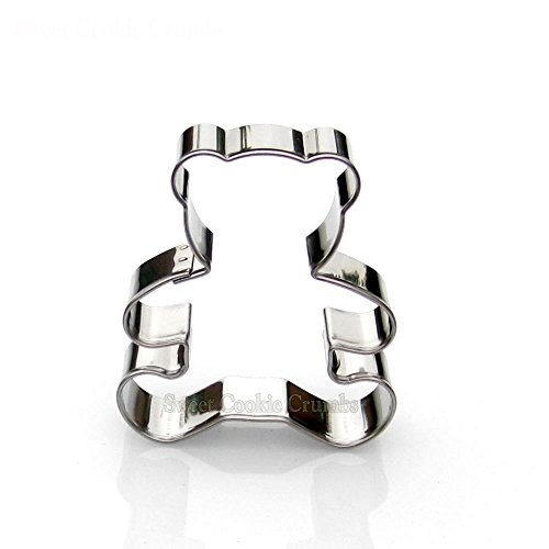 Teddy Bear Cookie Cutter- Stainless Steel