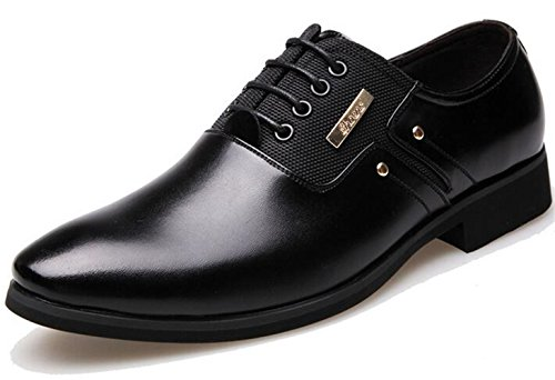 Mocassins Noir classic Chaussures Homme Cuir Chaussure Dadawen Oxford Homme b 8qgpR5nSt