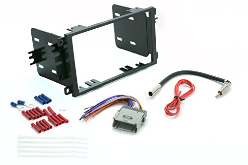 - Install Centric ICGM8BN 1992-12 Double Din Complete Installation Kit