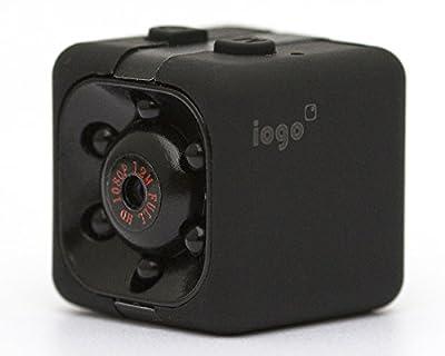 SpyGear-Mini Spy Cam Hidden - iogo Pro 1080P Portable Small Nanny Cam with Night Vision & Motion Sensor, Perfect Indoor Security Surveillance Camera for Home - iogo