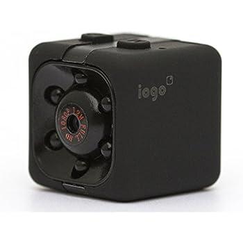 Mini Spy Cam Hidden Iogo Pro 1080p Portable Small Nanny Cam With Night Vision Motion Sensor Perfect Indoor Security Surveillance Camera For Home