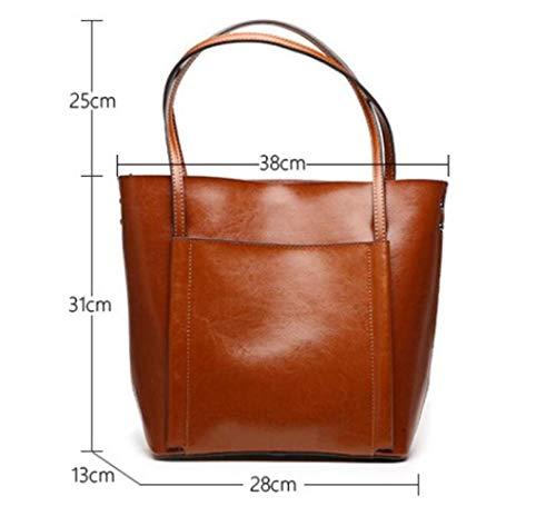 Da Bag Gray Borsa Ed Primavera Da Estate Con Donna Borsa Shopping Tracolla WDBAO Donna 8SHP4n64q