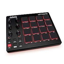 AKAI Professional MPD218   Ultra Portable USB Bus Powered 16 Pad USB/MIDI Pad Controller