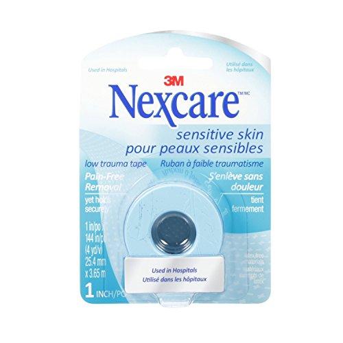 Nexcare Sensitive Skin Tape, 25.4mm x 3.65m