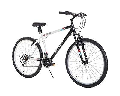 "Dynacraft Men's 26"" 21 Speed Alpine Eagle Bike, 18.5""/One Size, Black/White"